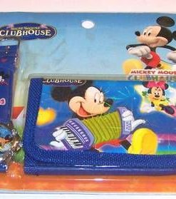 Set Feng Shui - ceas si portofel - Mickey Mouse Clubhouse